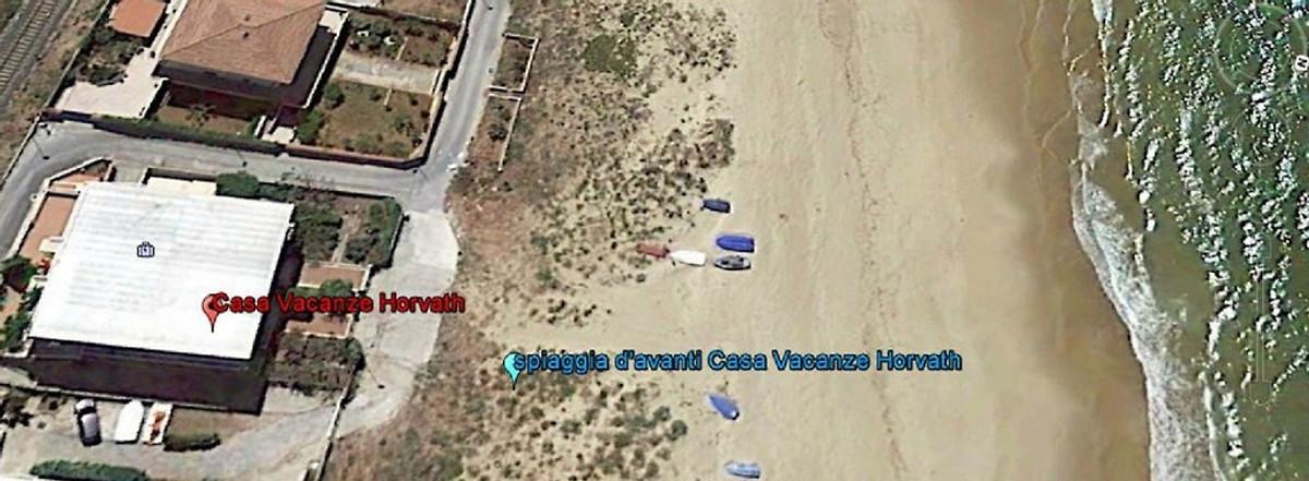 Casa vacanze horvath sulla spiaggia casa vacanze in for Disegno della casa sulla spiaggia