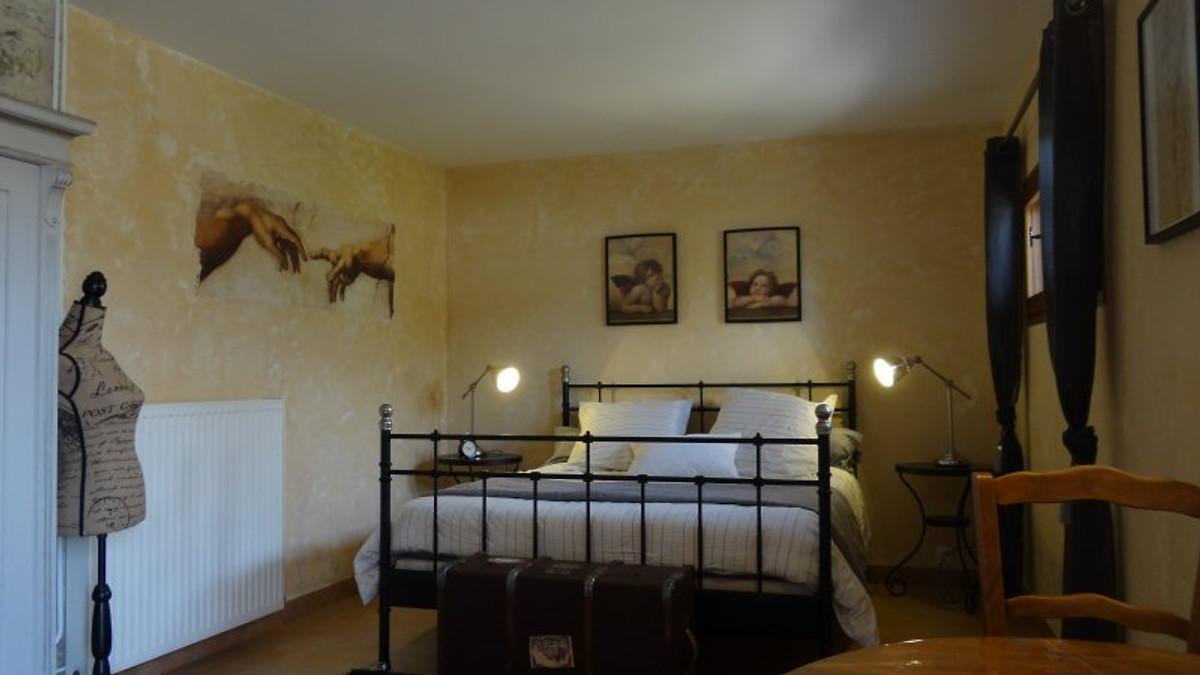 Clos des ammonieten vakantiehuis in labeaume huren - Ouderlijke suite met badkamer en kleedkamer ...