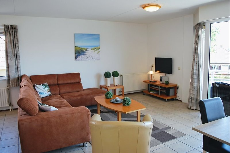 Wohnzimmer met Terrastüre