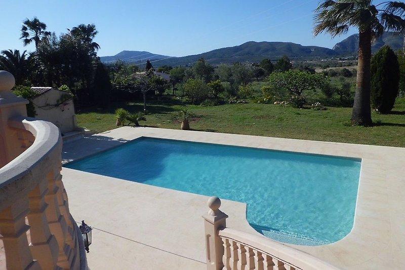 Pool Casa Burro Montgo Javea