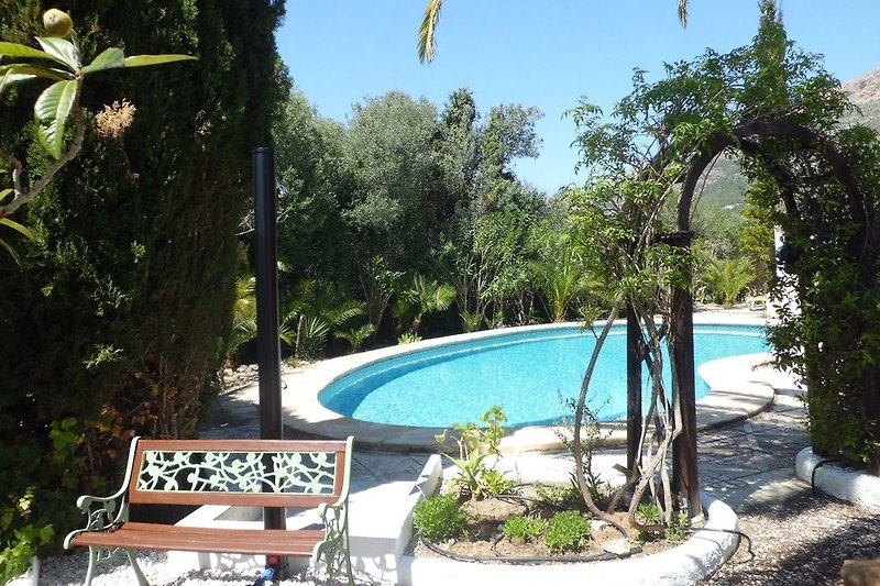 Ferienhaus Finca Carlotta am Montgo Javea Pool 10x5
