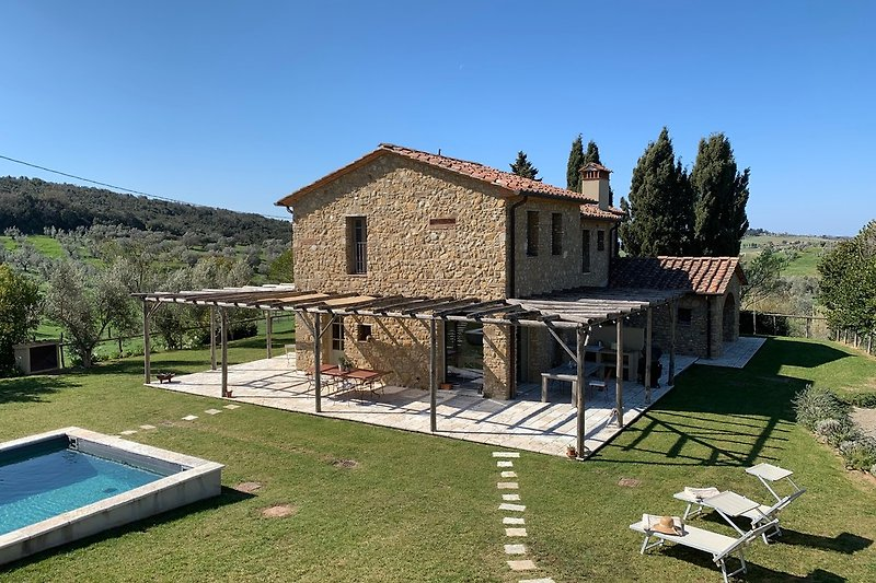Die Villa mit Pool