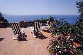 Villetta Solari vistas al mar