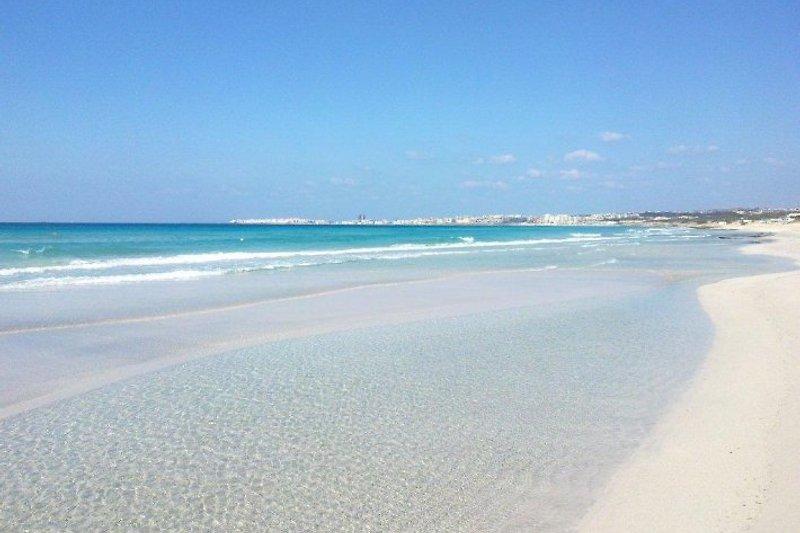 Strand nur 400m entfernt