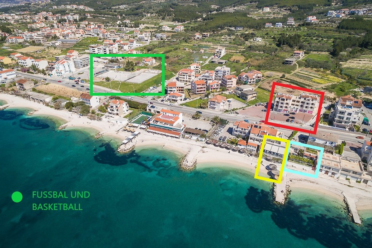 Strandurlaub SPLIT ☼ ☼ - Ferienwohnung in Podstrana mieten