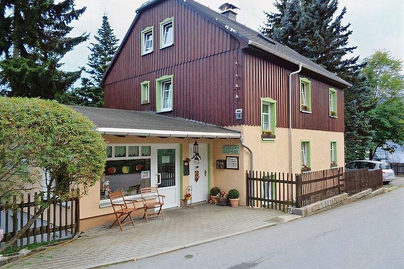 Unser Pensionshaus mit Bäckereifiliale