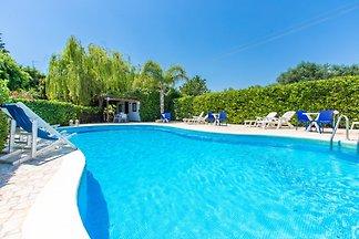 Villa Sofora con piscina