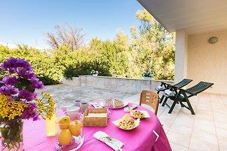 Villa Salento -Balkon mit Meerblick