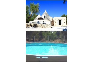 Trullo with children's pool