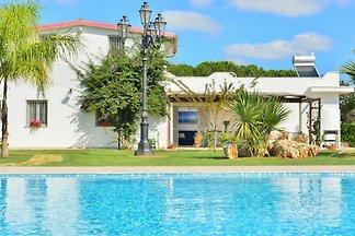 Villa Blu con piscina