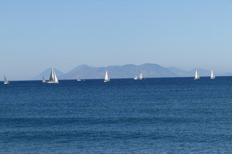 Vista Isole Eolie