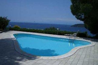 Elba Villa para 8 ps. con piscina