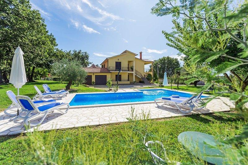 Das Haus mit Pool