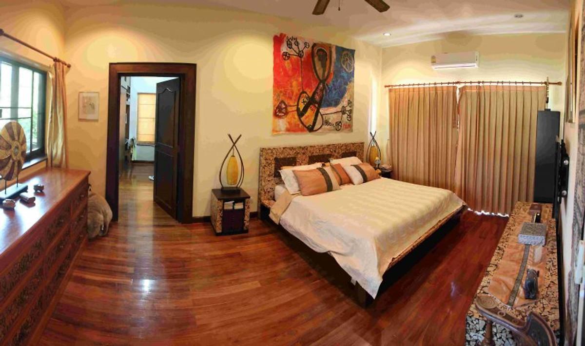 traumvilla maleegarden mit hausmaid ferienhaus in sam roi yod mieten. Black Bedroom Furniture Sets. Home Design Ideas