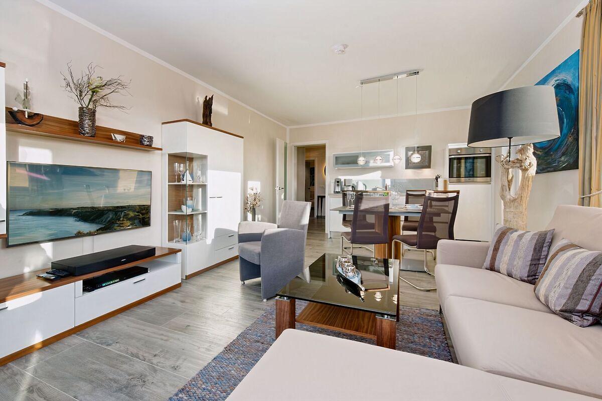 residenz seeterrassen ferienwohnung in binz mieten. Black Bedroom Furniture Sets. Home Design Ideas