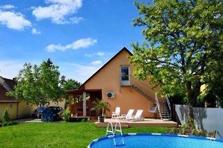 Ferienhaus Valens mit Pool und Hund