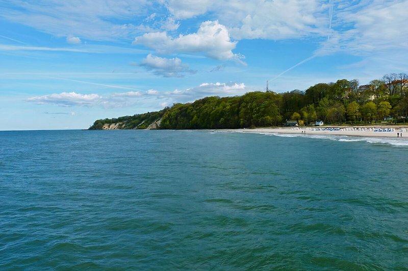 Göhrener Strand mit Hochufer