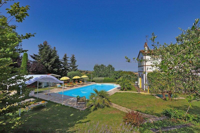 Villa La Capuccina - Großer gepflegter Garten