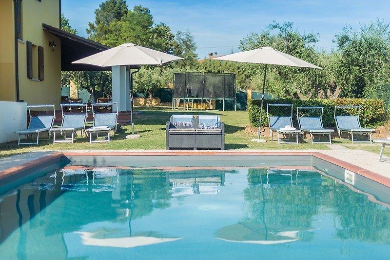 Villa Candelara - Privater Pool