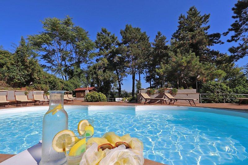 Villa Tiara-Private villa with swimming pool in the countryside