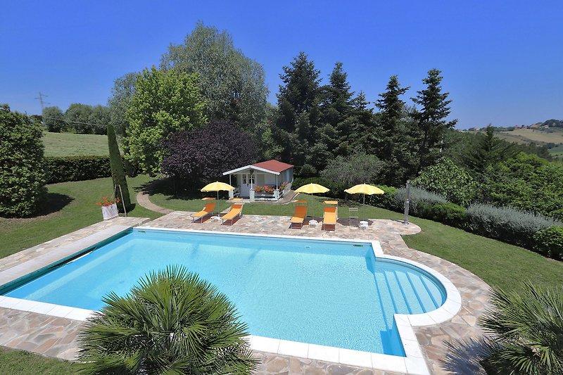 Villa La Capuccina - Pool 12x5.5