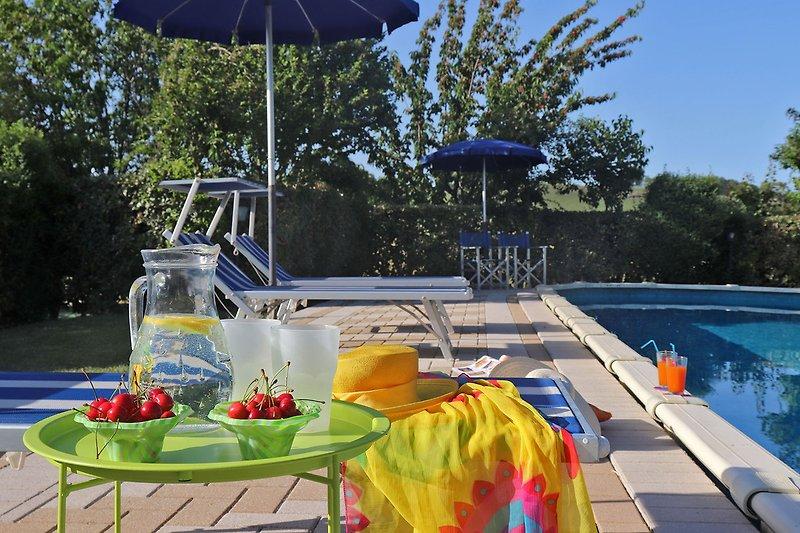 Villa Amata - Schwimmbad geöffnet von Mai bis September