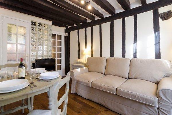 saint germain charmante wohnung ferienwohnung in paris mieten. Black Bedroom Furniture Sets. Home Design Ideas