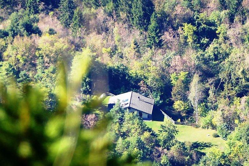 Chalet Anna vom Gipfel des Monte Levre