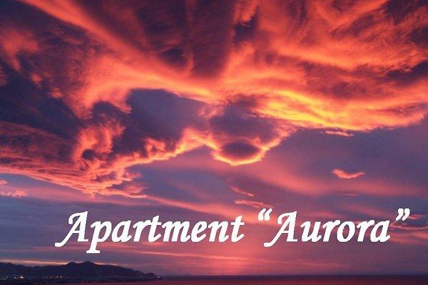 Sonnenaufgang vom Apartment aus gesehen