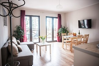 Apartment in Masuren für 6 Personen