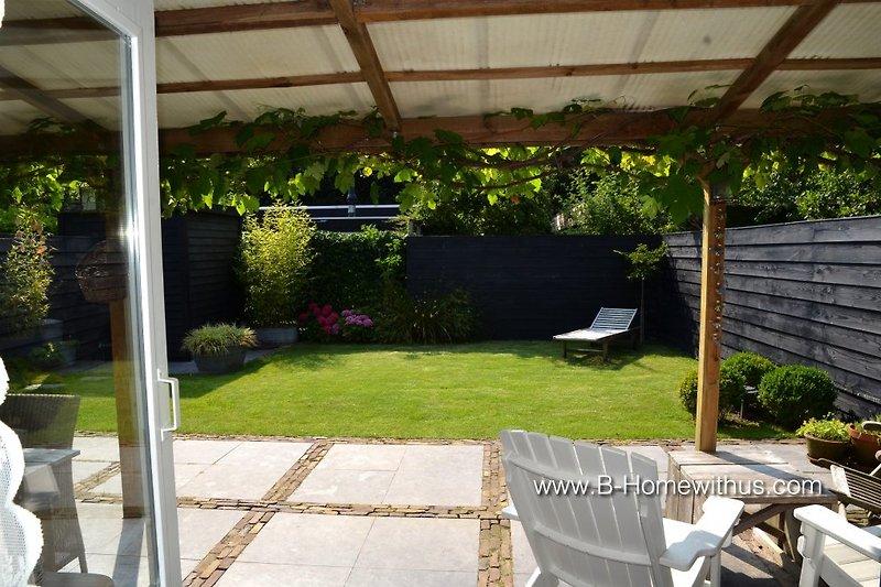 Veranda und Garten