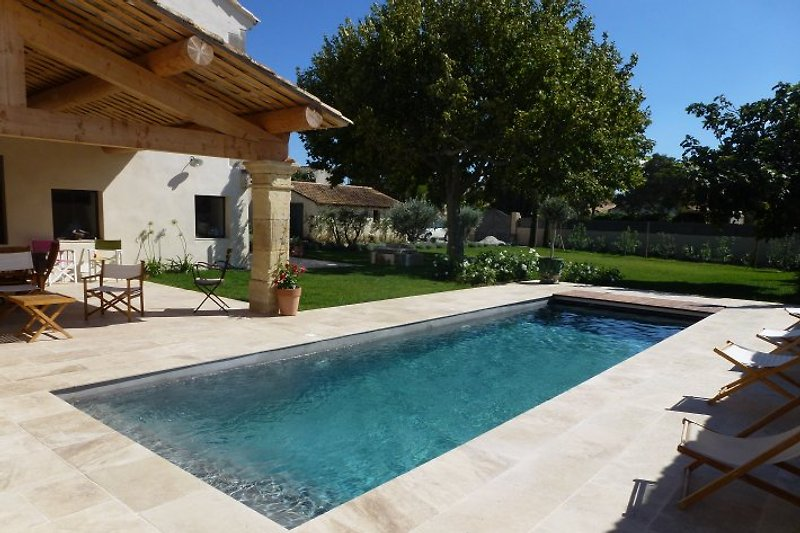 Ferienhaus mit Pool in den Alpilles