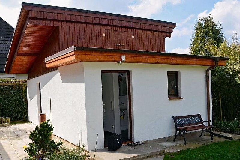 Das Sommerhaus Frontansicht