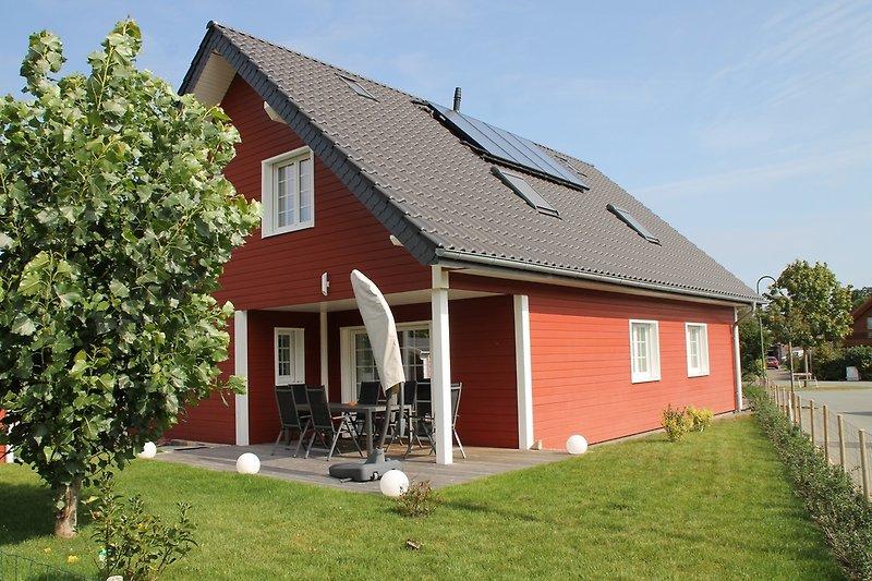 Schwedenhaus in ruhiger sonniger Lage nahe zu Dahme