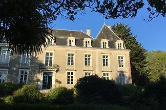 Schloss XVIII hat 30 km von Biarritz