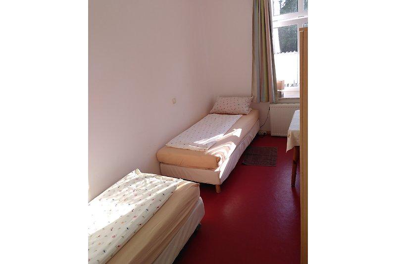 W3.Zi.1: 2 Einzelbetten