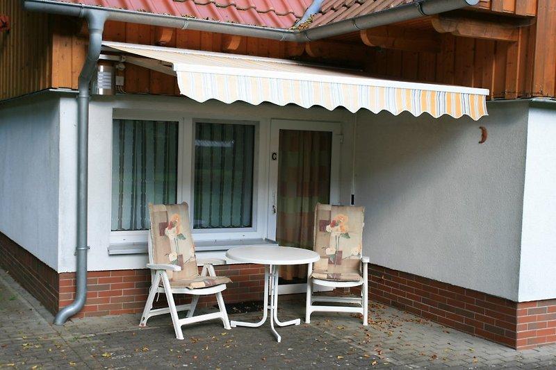 Terrasse Wohnung C