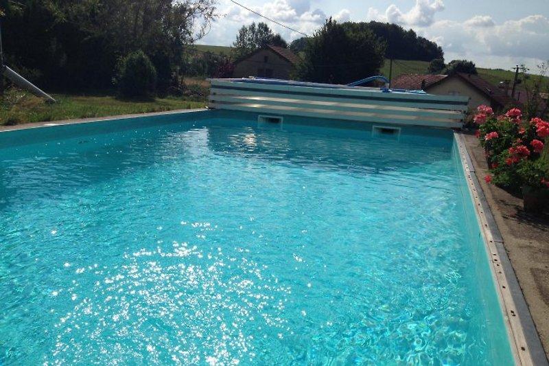 Der Pool ist cool ..