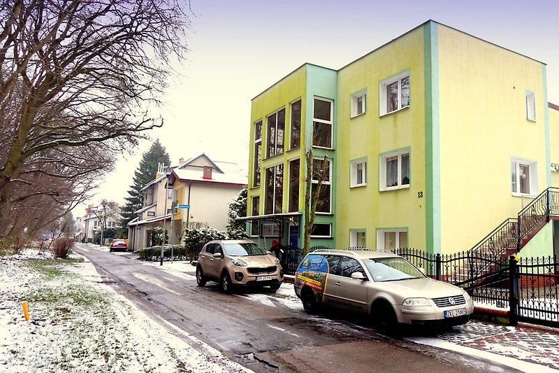 Gästehaus, POD CZERESNIA-Kolobrzeg. Zimmer für 2 bis 4 Personen Strand 400m