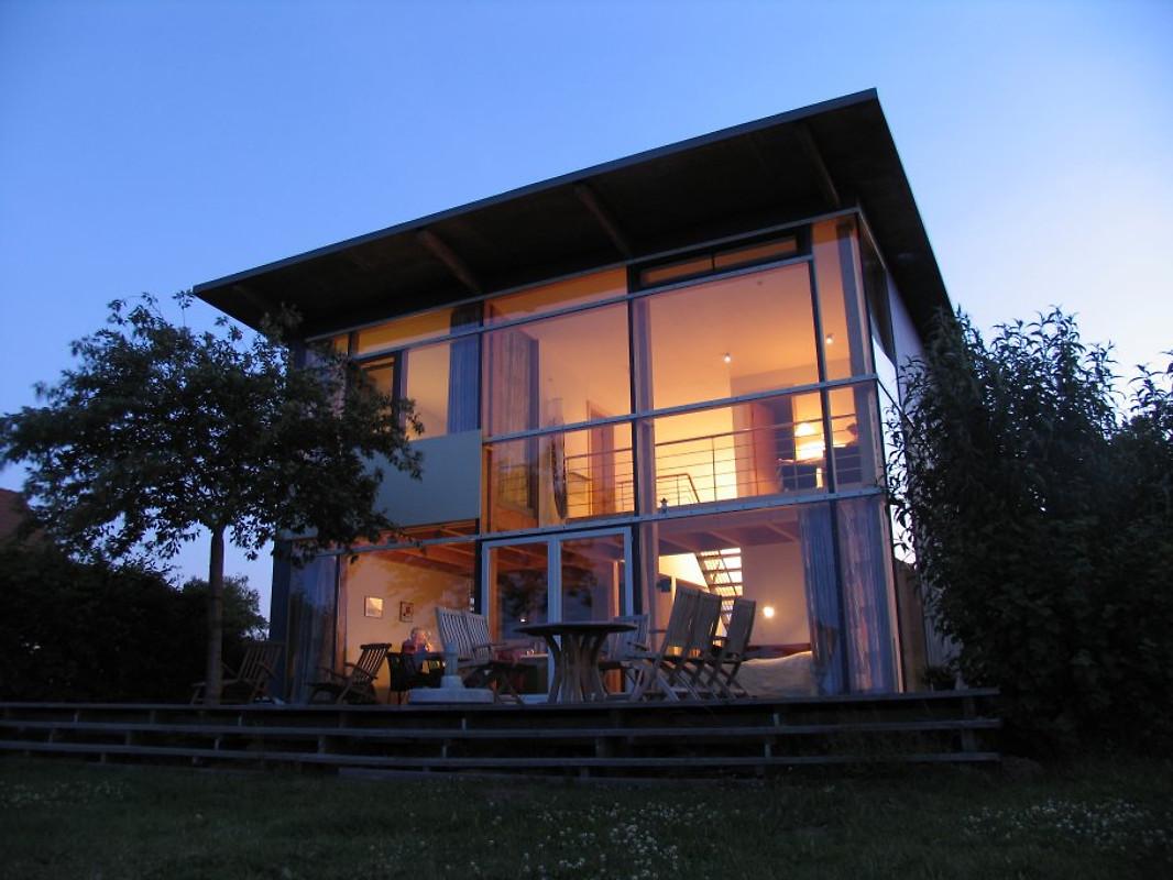 Ein traum aus holz und glas ferienhaus in ludorf mieten for Haus mieten gunstig