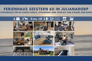 Seestern 60  Strandhaus so nah;)