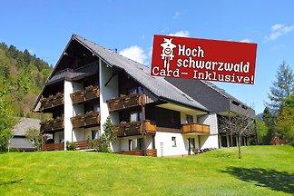 Studio B2 für 2 Personen  Willkommen in unserem herrlich gelegenen Schwarzwald- Ferienhaus mit 18 behaglich Ferienwohnungen in Menzenschwand, einem Ortsteil von Sankt Blasien.