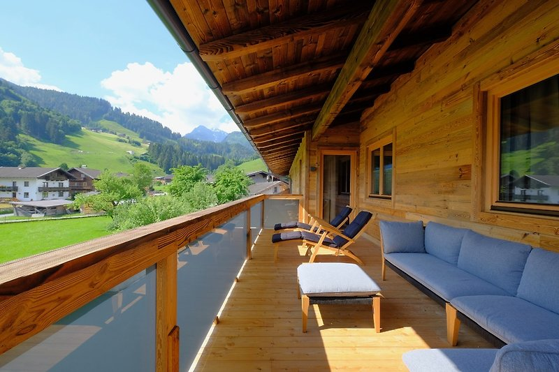 Lounge-Balkon
