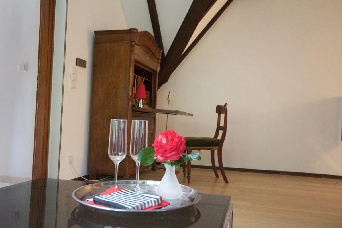 ferienhaus mit turmzimmer und kamin ferienhaus in neuss mieten. Black Bedroom Furniture Sets. Home Design Ideas