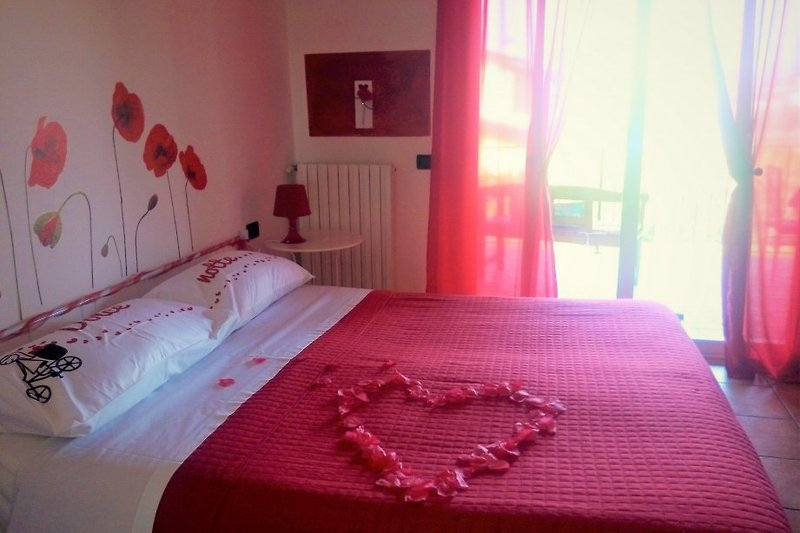 Romantische Doppelzimmer