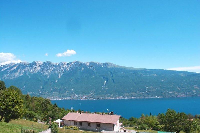 Aussicht Berg- und Seeblick