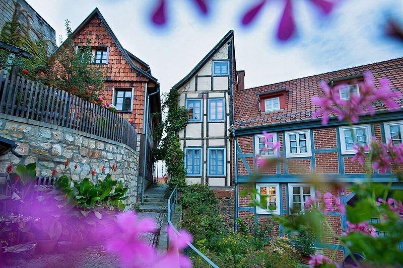"""Das """"Halbes Haus""""-La """"demi-maison"""" à Quedlinburg - Image 2"""