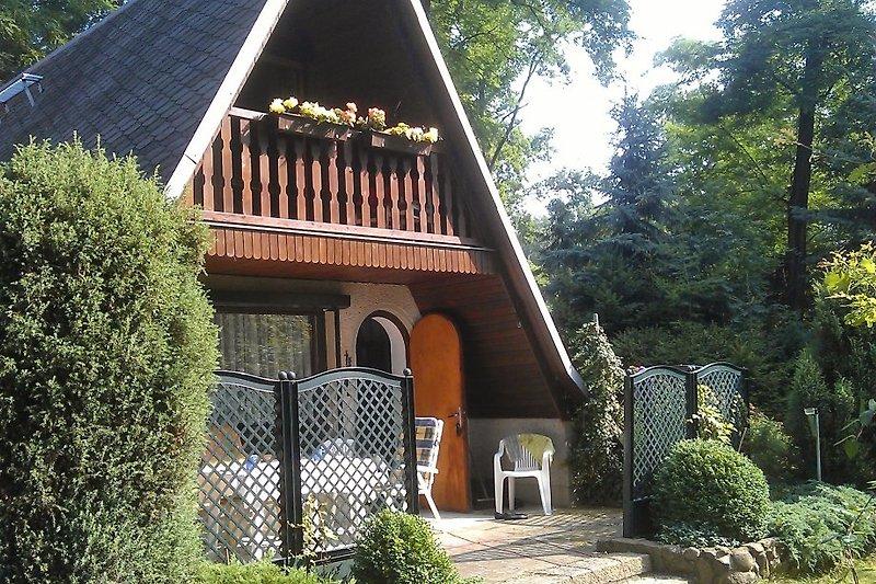 unsere Finnhütte