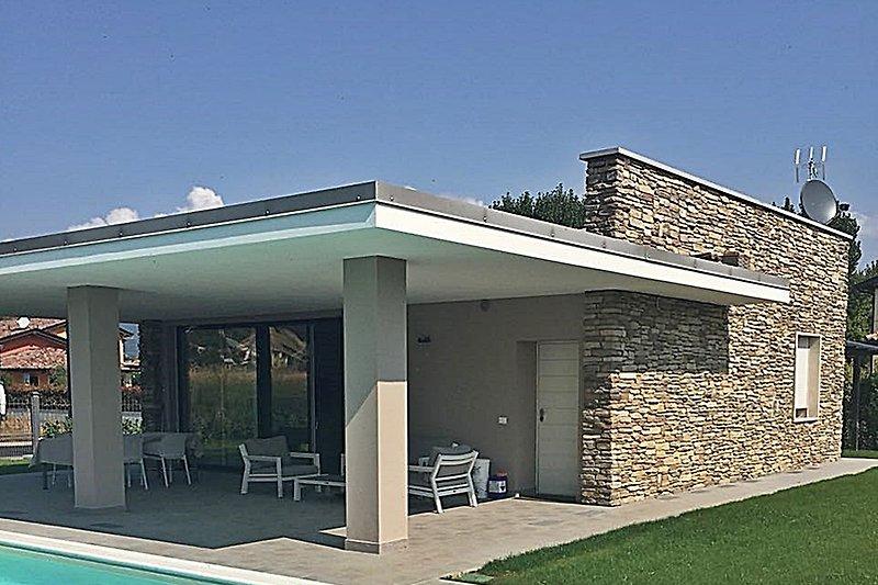 fantastische futuristisch gestylte Villa