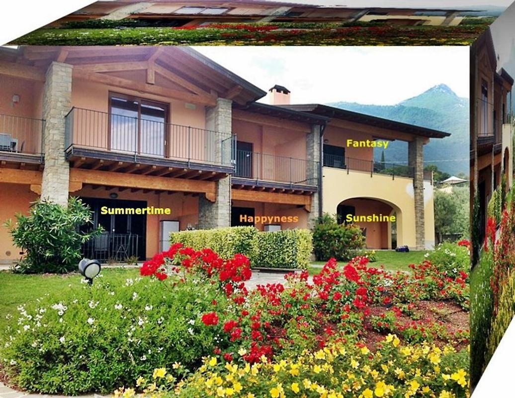 Appartement jardin maison de vacances toscolano for Simulateur de jardin